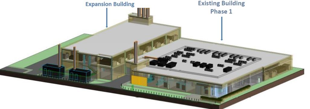 1547 Toronto Data Center Colocation Expansion Plan