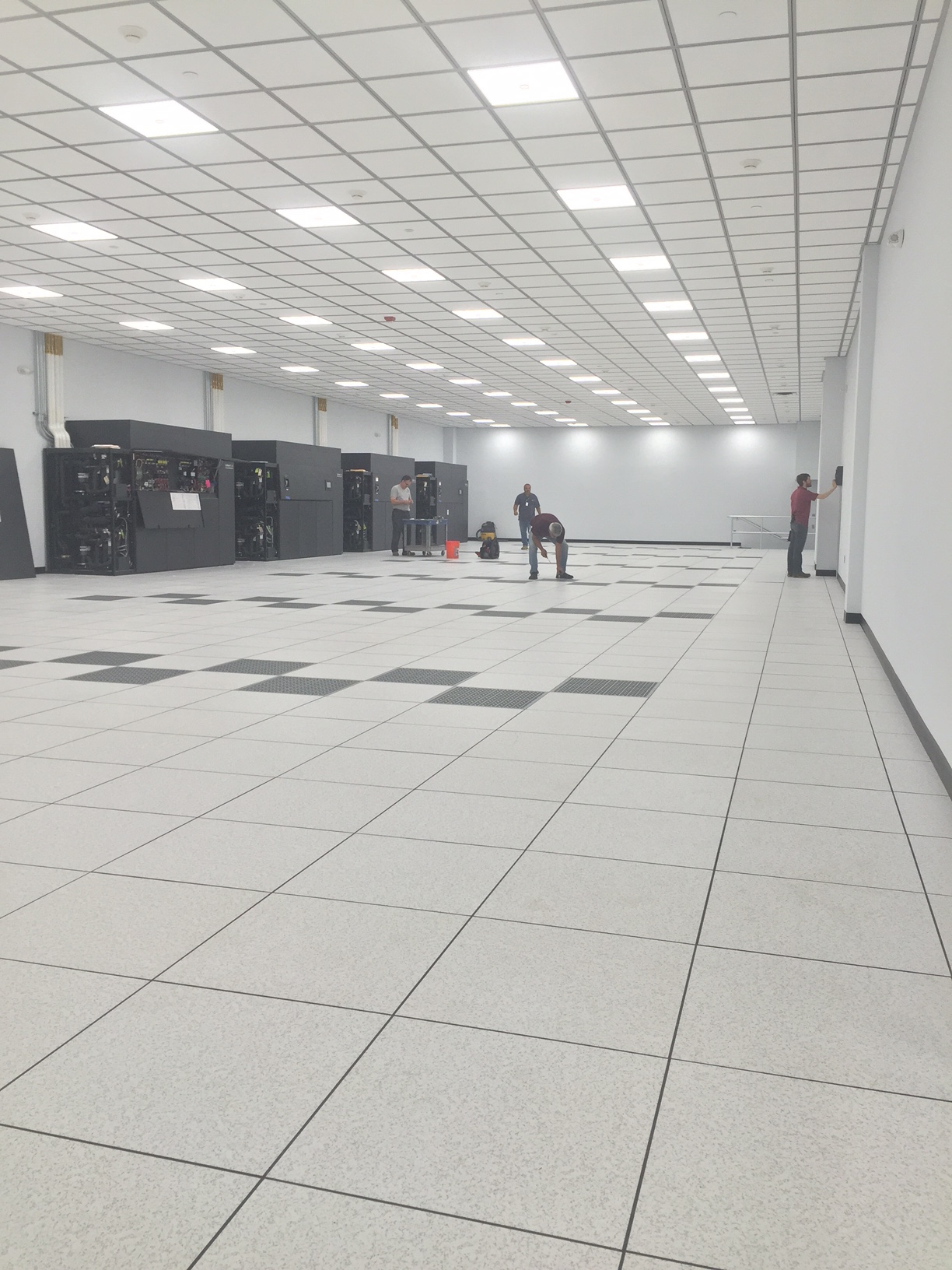 Build custom data center